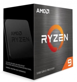 AMD Ryzen 9 5900X Zen 3 CPU 12C/24T TDP 105W Boost Up to 4.8GHz Base 3.7GHz