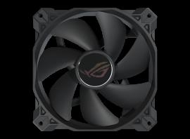 ASUS ROG STRIX XF120 4-Pin PWM Fan for PC Case/Radiator/CPU Cooling, 120x120x25, Whisper Quiet,