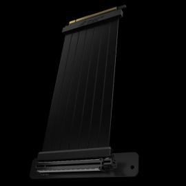 ASUS ROG Strix Riser RS200 Riser Cable 240mm PCI-E x16 3.0 EMI Shielding, SafeSlot Design, 90 Degree Adapter, Slim & Foldable Design, Cable Management