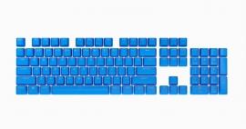 Corsair PBT Double-shot Pro Keycaps - Elgato Blue - Keyboard CH-9911030-NA