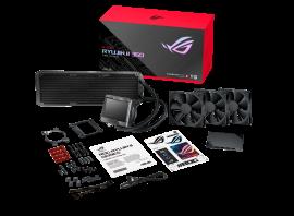 ASUS ROG RYUJIN II 360 All-In-One Liquid CPU Cooler, 3.5' LCD, Embedded Pump Fan, 3x Noctua PWM 120mm Radiatior Fans (ROG RYUJIN II 360)