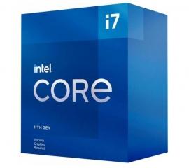 Intel i7-11700F CPU 2.5GHz (4.9GHz Turbo) 11th Gen LGA1200 8-Cores 16-Threads 16MB 65W Graphic Card Required 750 Retail Box 3yrs Rocket (BX8070811700F)