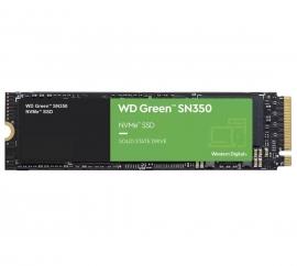 Western Digital WD Green SN350 480GB M.2 NVMe SSD 2400MB/s 1650MB/s (WDS480G2G0B)