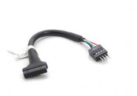 USB 2.0 male to USB 3.0 female Converter cable (CB-U3-U2-R)