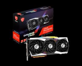 MSI AMD Radeon RX 6900 XT GAMING Z TRIO 16G Video Card, PCI-E 4.0, 2235 MHz Game Clock, 2425 MHz Boost Clock, 3x DisplayPort 1.4, 1x HDMI 2.1 (RX 6900 XT GAMING Z TRIO 16G)