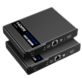 4K KVM Console Extender Over Cat 6/6A 70m with HDMI Loop-Through, S/PDF ARC, and bidirectional IP 006.008.1046