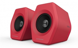 Edifier G2000 Gaming 2.0 Speakers System - Bluetooth V4.2/ USB Sound Card/ AUX Input/RGB 12 Light Effects/ 16W RMS Power Red