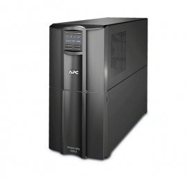 APC Smart-UPS 3000VA, Tower, LCD 230V with SmartConnect Port, Ideal Entry Level UPS For POS, Switches, ETC, 3 Year Warranty SMT3000IC
