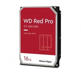 Western Digital WD Red Pro 16TB 3.5' NAS HDD SATA3 7200RPM 512MB Cache 24x7 NASware 3.0 CMR Tech 5yrs wty WD161KFGX-P