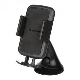 Verbatim Phone Mount - Windscreen/Dash - Black 66601