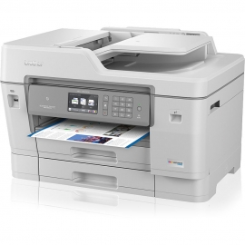 Brother MFC-J6945DW Professional A3 Inkjet Multi-Function Centre with 2-Sided Printing, Dual Paper Trays, and A3 2-Sided Scanner, NFC