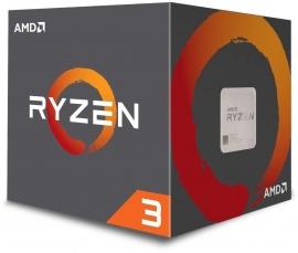 AMD Ryzen 3 1200 4 Core 4 Thread CPU, 3.1GHz Base Clock, 3.4GHz Boost, 65W TDP, 8MB L3 cache, with Wraith Stealth Cooler (AMDCPU) YD1200BBAFBOX