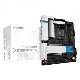 Gigabyte X570S AERO G AMD Ryzen AM4 ATX Motherboard, 4x DDR4 ~128GB, 3x PCI-E x16, 4x M.2, 6x SATA3, 2x USB-C, 6x USB 3.2, 2x USB 2.0