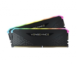 Corsair DDR4, 3600MHz 16GB 2x8GB DIMM, Unbuffered, 18-22-22-42, XMP 2.0, VENGEANCE RGB RS Heatspreader, CMG16GX4M2D3600C18
