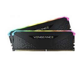 Corsair DDR4, 3600MHz 32GB 4x8GB DIMM, Unbuffered, 18-22-22-42, XMP 2.0, VENGEANCE RGB RS Heatspreader, CMG32GX4M4D3600C18