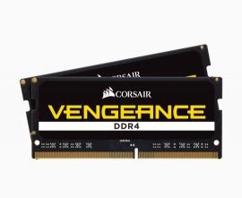 Corsair Vengeance 64GB (2x32GB) DDR4 SODIMM 3200MHz CL22 1.2V Notebook Laptop Memory RAM CMSX64GX4M2A3200C22