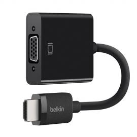 Belkin HDMI to VGA Adapter with Micro-USB Power Black AV10170bt