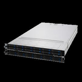 Asus 2U RS700A Rackmount Server, 1RU, Dual Docket AMD EPYC, 12 x 2.5' HS Bays, 4 x 1GB LAN, 1600w RPSU, 3 Year Warranty