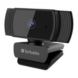 Verbatim Webcam Full HD 1080P with Auto Focus - Black 66631
