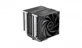 Deepcool AK620 High Performance Dual Tower CPU Cooler, 6 Copper Heat Pipes, 2x 120 FDB Fans, R-AK620-BKNNMT-G