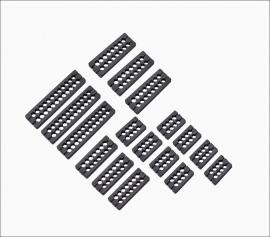 Corsair Premium Type 4 Gen 4 Cable Comb Kit, Black