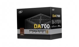 Deepcool DA700 AU ATX 80 PLUS Bronze Power Supply, ATX 12V V2.4, 120mm Silent Fan, Double-Layer EMI Filter, DP-BZ-DA700N