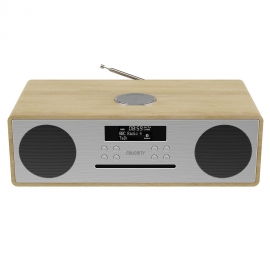 Majority Oakington Bluetooth, DAB Radio & CD Player-Oak MY-1000002728