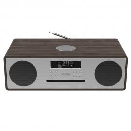 Majority Oakington Bluetooth, DAB Radio & CD Player-Walnut MY-1000002729