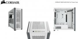Corsair Obsidian 7000D AF Tempered Glass Mini-ITX, M-ATX, ATX, E-ATX Tower Case, USB 3.1 Type C, 10x 2.5', 6x 3.5' HDD. White CC-9011219-WW