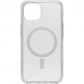 OtterBox Apple iPhone 13 Symmetry Series + Clear Antimicrobial Case for MagSafe - Ant Clear (77-85644) - Wireless charging compatible