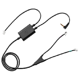 EPOS | Sennheiser EHS adaptor cable for Panasonic KX-NT/KX-UT and KX-DT phones that support EHS