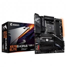 Gigabyte X570S AORUS ELITE AX AMD Ryzen AM4 ATX Motherboard, 4x DDR4 ~128GB, 3x PCI-E x16, 3x M.2, 6X SATAIII, RAID 0/1/10, 1x USB-C, 4x USB 3.2