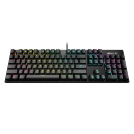 Gigabyte AORUS K1 Mechanical Gaming Keyborad: AORUS K1 (Cherry MX RED Switch), RGB Fusion 2.0, Full-range anti-ghosting