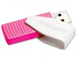 """Verbatim Store""""n""""go Usb Drive Swivel 16gb - Pink 49813"""