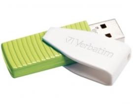 Verbatim Store'n'go Usb Drive Swivel 32gb - Green 49815