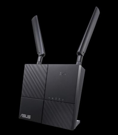 Asus Ac750 Wireless Dual Band 4g Lte Router Gbe(2) (1) Usb 2.0(1) Sim Slot(1) Ant(2) 3yr 4g-ac53u