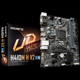 GIGABYTE H410M Motherboard, 1200, 2xDDR4, 4xSATA, 1x M.2, USB3.2 Gen1, uATX, 3YR