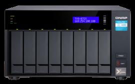 QNAP TVS-872X-i3-8G,8-Bay NAS, Intel Core i3-8100T 4-core 3.1 GHz Processor, 8GB DDR4 RAM (max 32GB RAM),