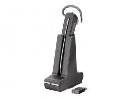 PLANTRONICS SAVI S8240 UC CONVERTIBLE WIRELESS DECT, USB-A, PC 211200-02