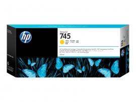 HP 745 300-ML YELLOW DESIGNJET INK CARTRIDGE - Z2600/Z5600  F9K02A