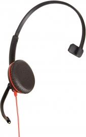 PLANTRONICS BLACKWIRE C3215 USB-C CORDED HEADSET  209750-22