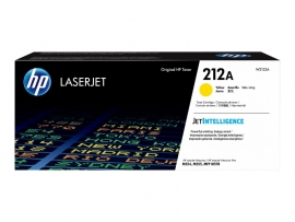 HP 212A YELLOW TONER - APPROX 4.5K PAGES - FOR M554, M555, M558 SERIES W2122A