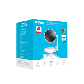 D-Link mydlink 2 Megapixel HD Network Camera - 5 m - H.264 - 1920 x 1080 Fixed Lens DCS-8330LH