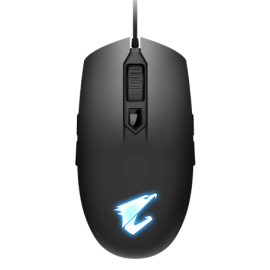 GIGABYTE Aorus M2 Gaming Mouse 6200Dpi Pixart 3327 Optical Sensor 4 Side Buttons Usb Corded Rgb Fusion 2.0 2 Years Warranty Aorus M2