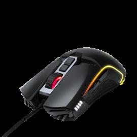 GIGABYTE Aorus M5 Ergonomic Right-Handed Gaming Mouse 16000Dpi Pixart 3389 Optical Sensor 2 Side Buttons Usb Corded Rgb Fusion 2.0 2 Years Warranty Aorus M5