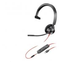 PLANTRONICS BLACKWIRE 3315-M, UC, MONO USB-C CORDED HEADSET - PROMO ENDS 26 JUN 21 214015-01
