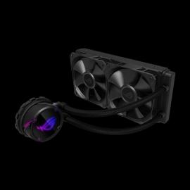 Asus Rog Strix Lc 240 Rgb All-In-One Liquid Cpu Cooler Aura Sync Dual Rog 120Mm Addressable Rgb Radiator Fans Rog Strix Lc 240 Rgb