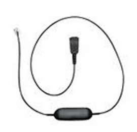 Jabra Smart Cord, Qd To Rj10, Straight, 0, 8 Meters, With 8-position Switch Configurator, 88001-99