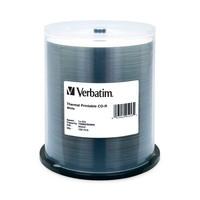Verbatim Cd-r 80 Min Wht Therm 100 Pk 52x 95253