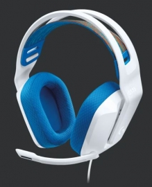 Logitech G335 Wired Gaming Headset - White 981-001019